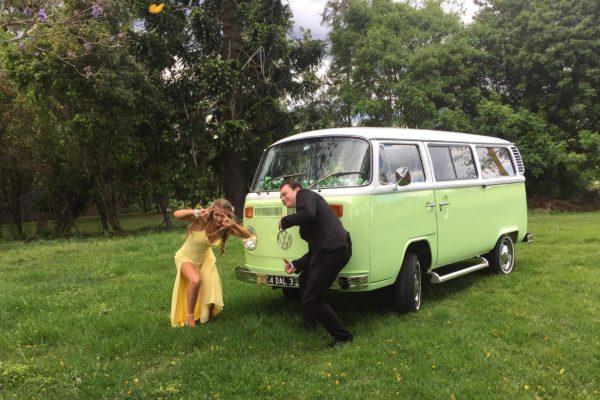 Dale VW Kombi Hire at Wedding