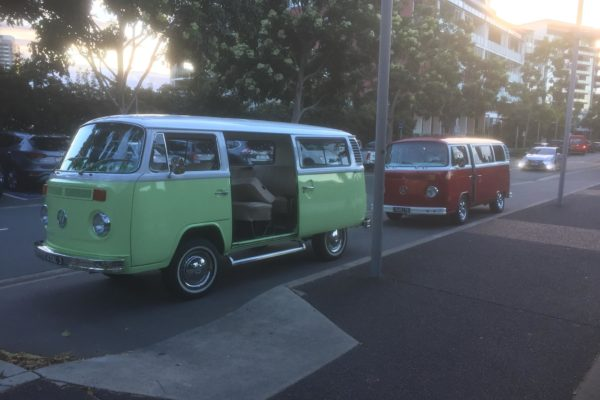 Dale VW Kombi with Rubi