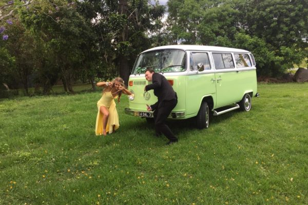 Dale VW Kombi Hire at Wedding