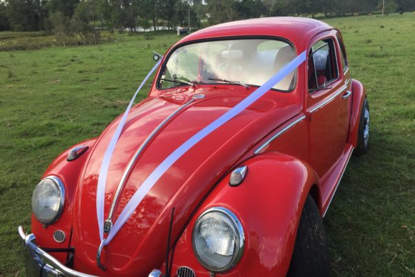 Jude Red VW Beetle