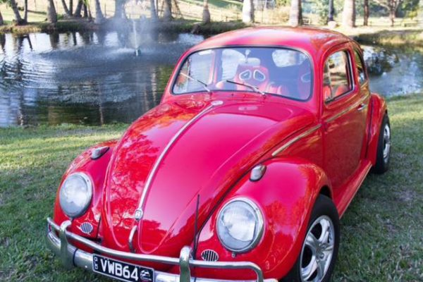 Jude Red VW Beetle for hire