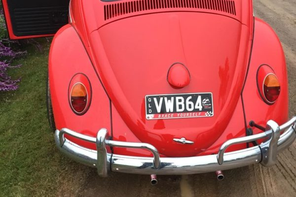 Jude VW Beetle Rear