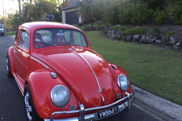 Jude VW Beetle for hire Gold Coast