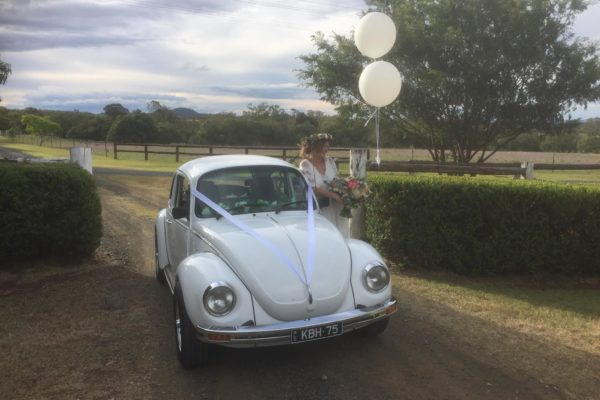 Lucy VW Beetle weddings