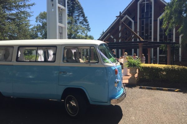 Paddy Pale Blue and White Kombi with Aircon