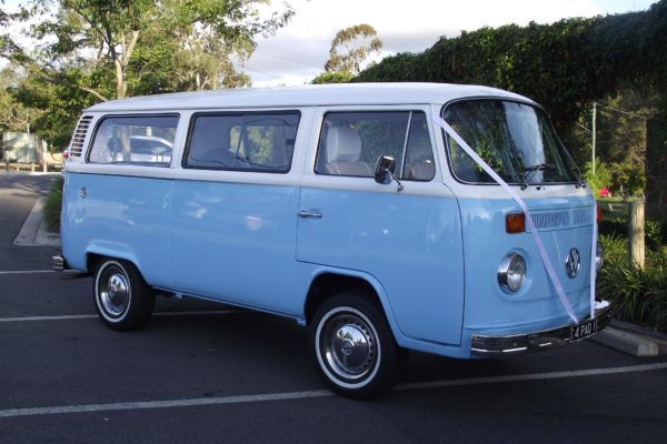Paddy VW Kombi for hire