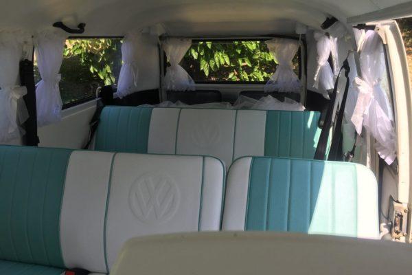 Pippa VW Kombi Microbus interior