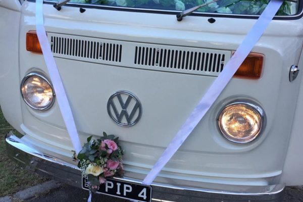 Pippa VW Kombi Microbus wedding2