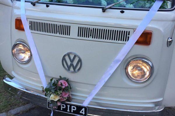 Pippa VW Kombi Microbus wedding2