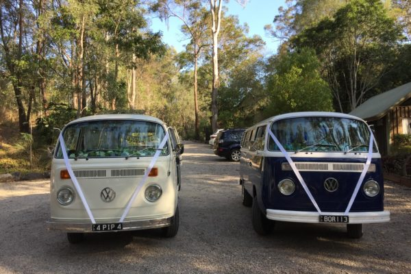 Pippa and Boris VW Kombis for hire