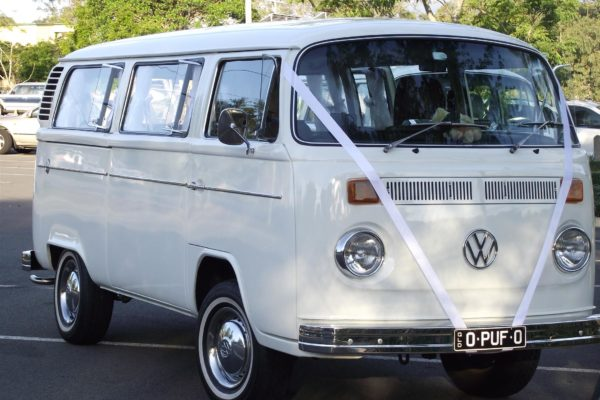 Puff VW Kombi ready for wedding