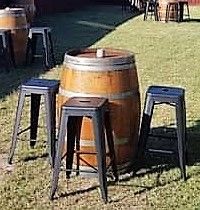 Barrels and Stools (2)
